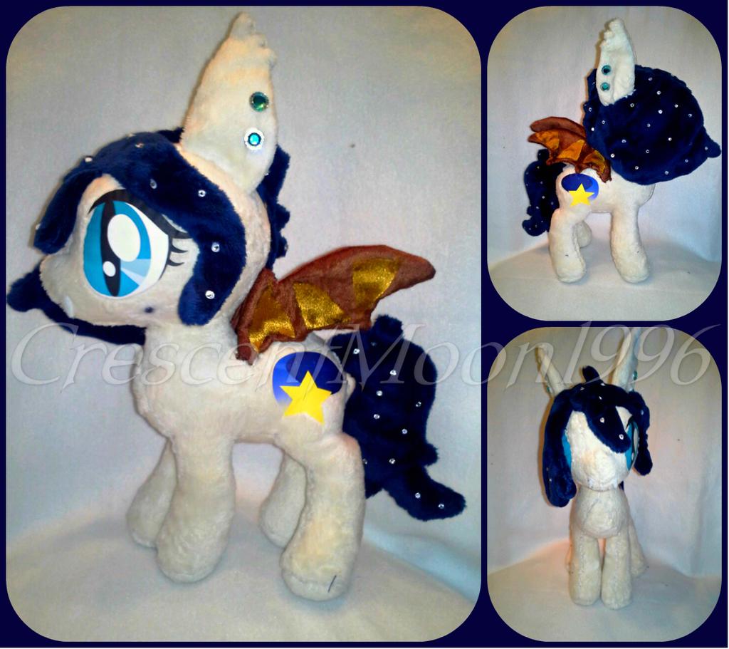 Night Wish Batpony Plush