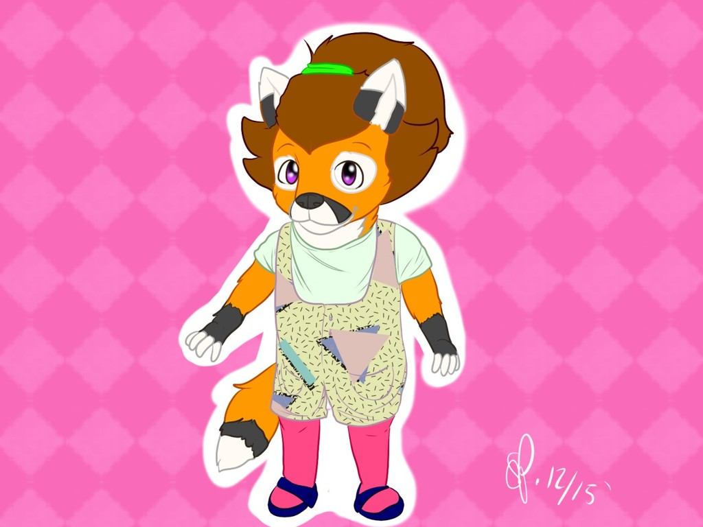 Little 80's Fox Cub (December 2015)