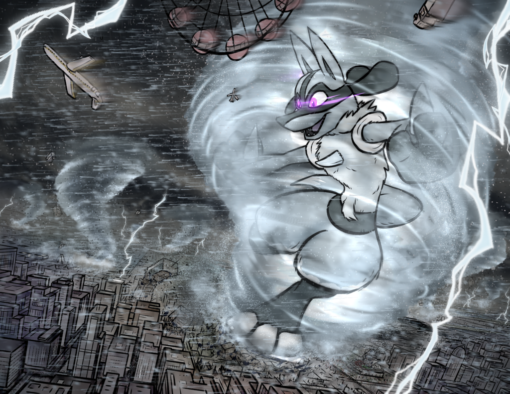 Typhoon the Storm Lucario