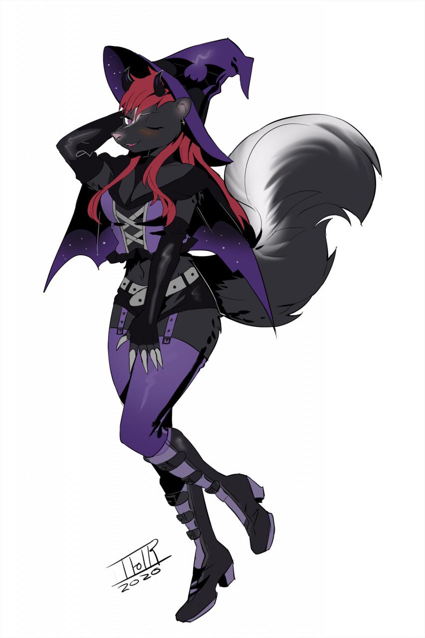 Demony Skunk by TFOTR