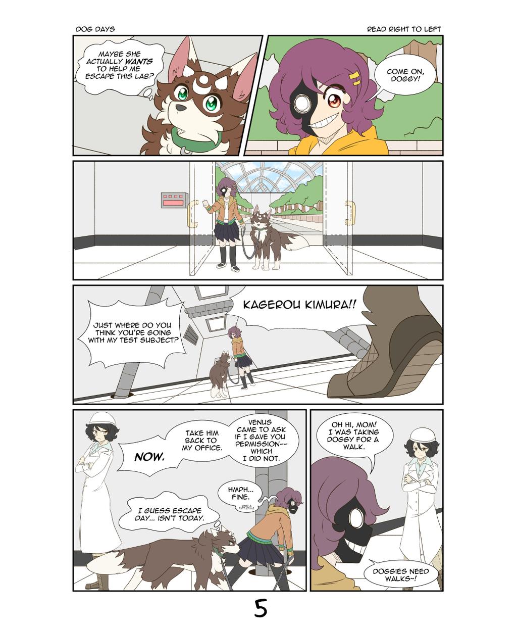 Dog Days - Page 5