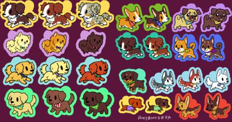 Pup Charms