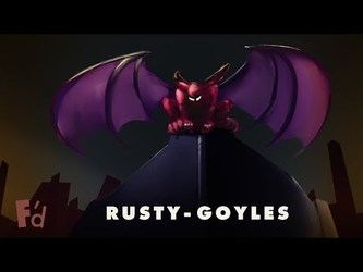 Gargoyle Rusty, Updated Patreon + Comments | F'd Up Date June 2017
