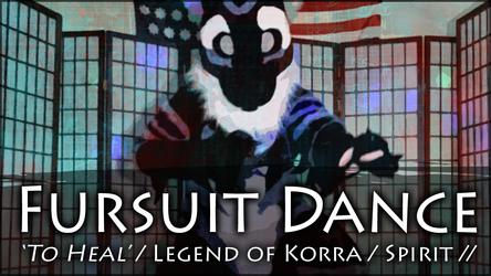 Fursuit Dance - Spirit in 'To Heal' Legend of Korra