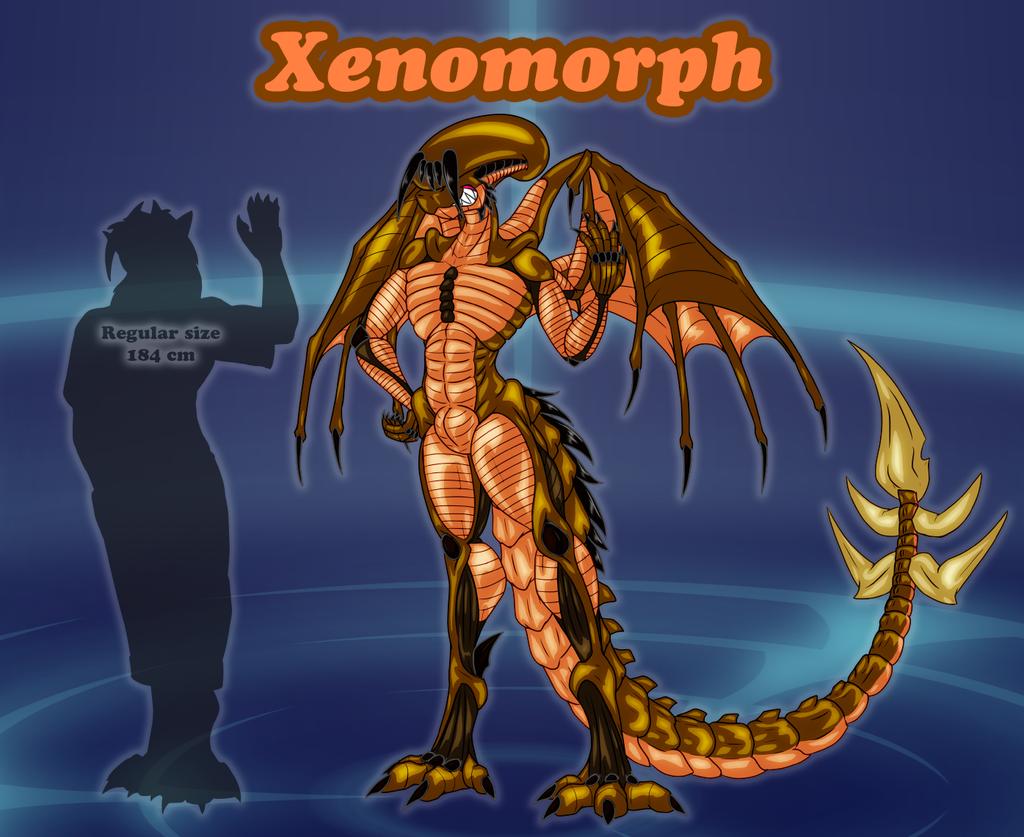 Forms of Danny - Xenomorph