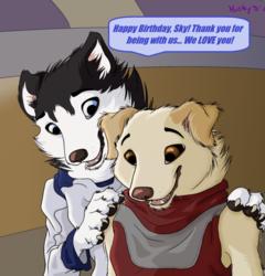Happy 2nd Birthday, Sky