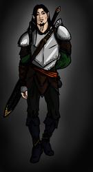 Half Elf Scoundrel