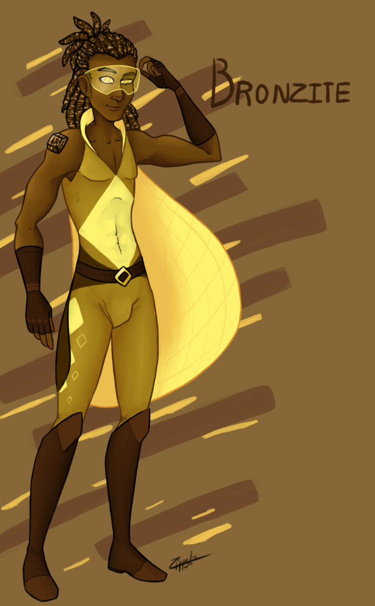 Cocky Brown Gem (Commish)