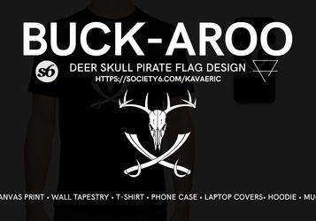 Buck-Aroo Flag designs for sale!
