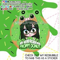 BNHA Froppy Donut + Speedpaint