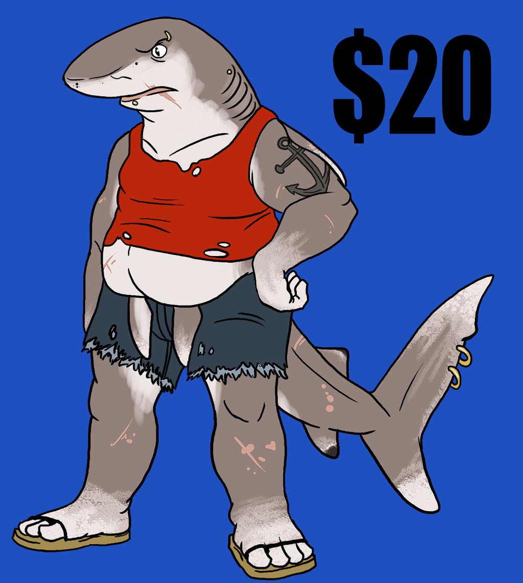 Whitetip Shark Adopt - $20