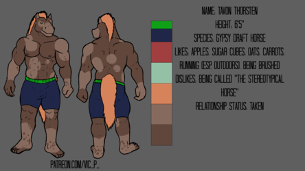 Ref Sheet: Tavon Thorsten