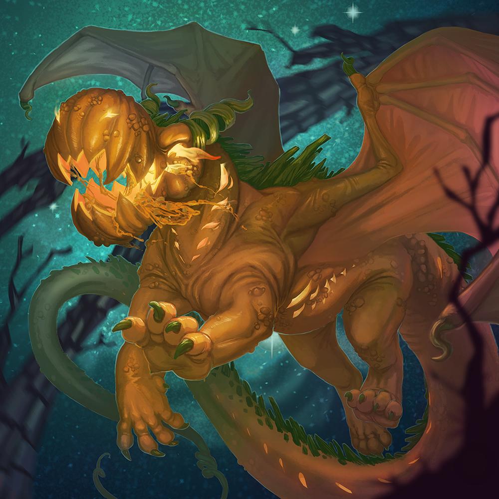Dragon-o-lantern