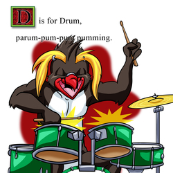 D is for Drums!