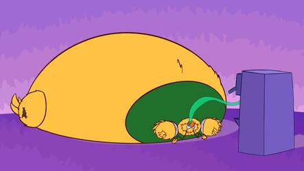 [COMM] Zai Got Hungry (Animated)