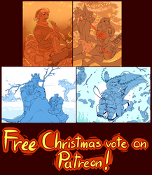 Free Christmas Vote on Patreon