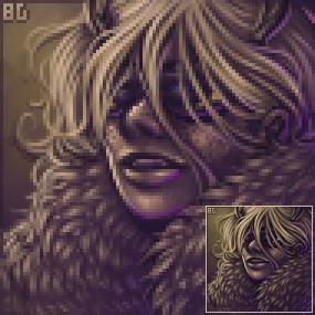 Portrait: Avaritia