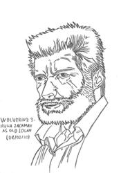Wolverine 3 - Hugh Jackman as Old Logan