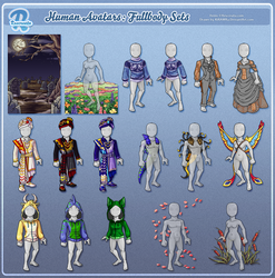 Rescreatu Avatars: Fullbody Sets
