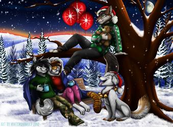 Freunde sind Weihnachten