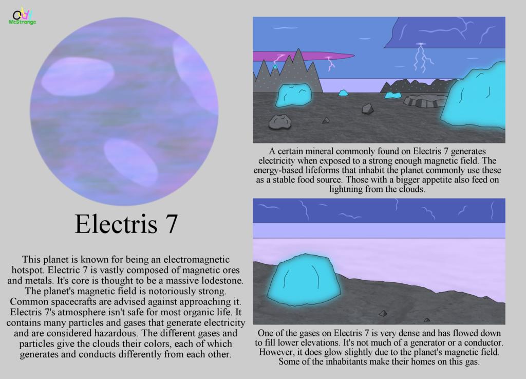 Planetary Summary - Electris 7