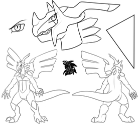 Male Dialkrom +Ref Commission WIP+