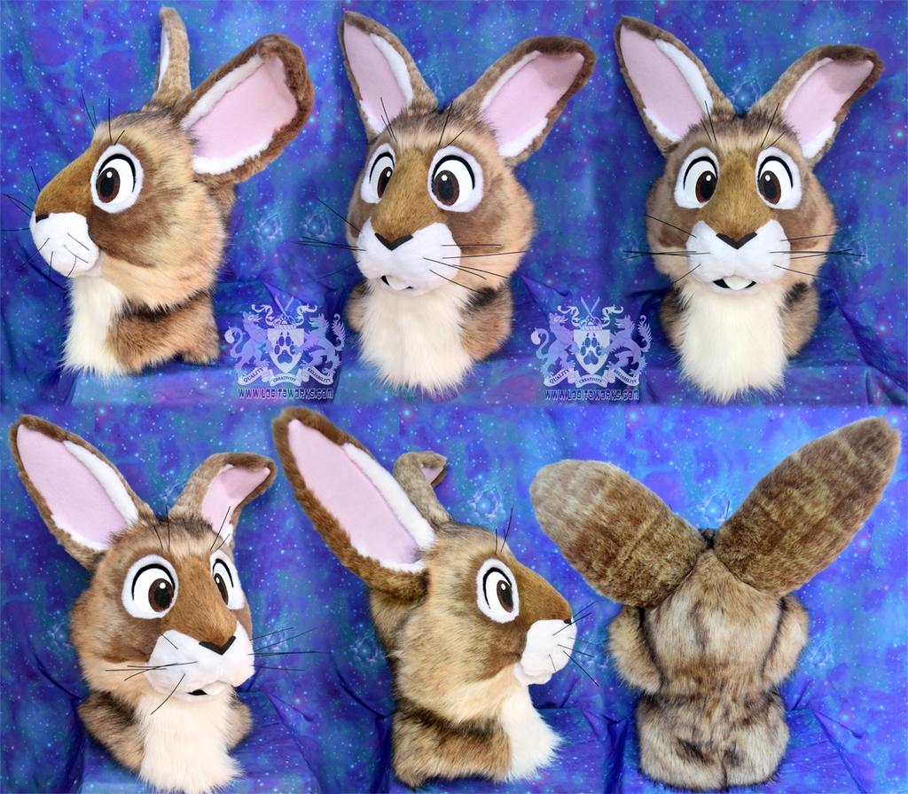 Bunny Fursuit Head (for Sale)