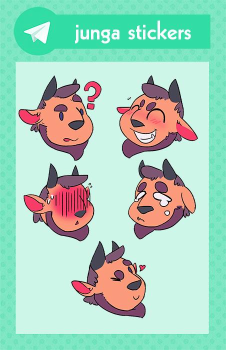 junga telegram stickers