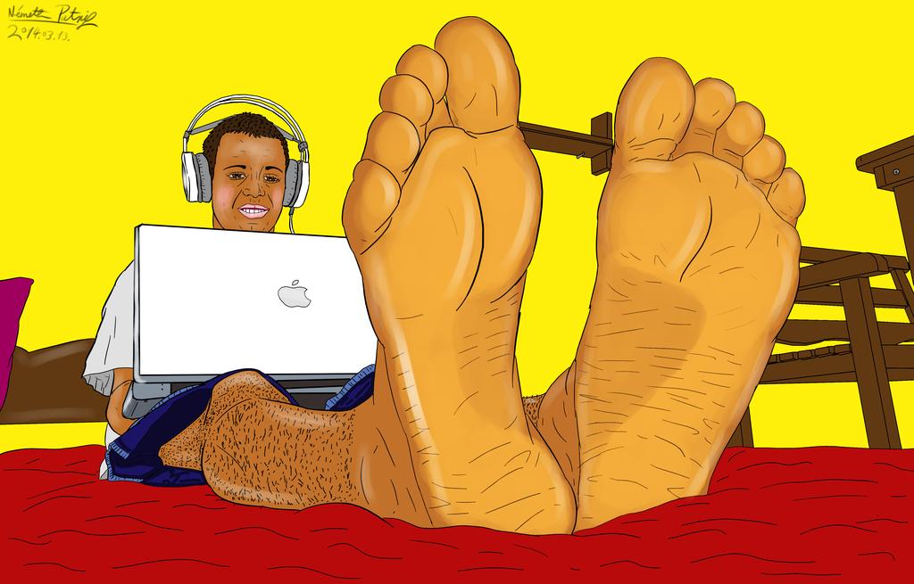 Foot Fetish Artwork 8