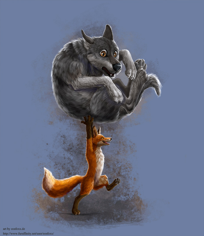 Foxes are mighty!