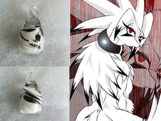 tamurross's Handmade glass egg pendant