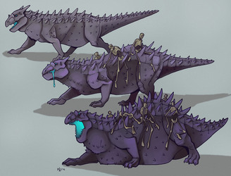 Necromantic dragon