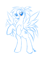 Pony sketch commision
