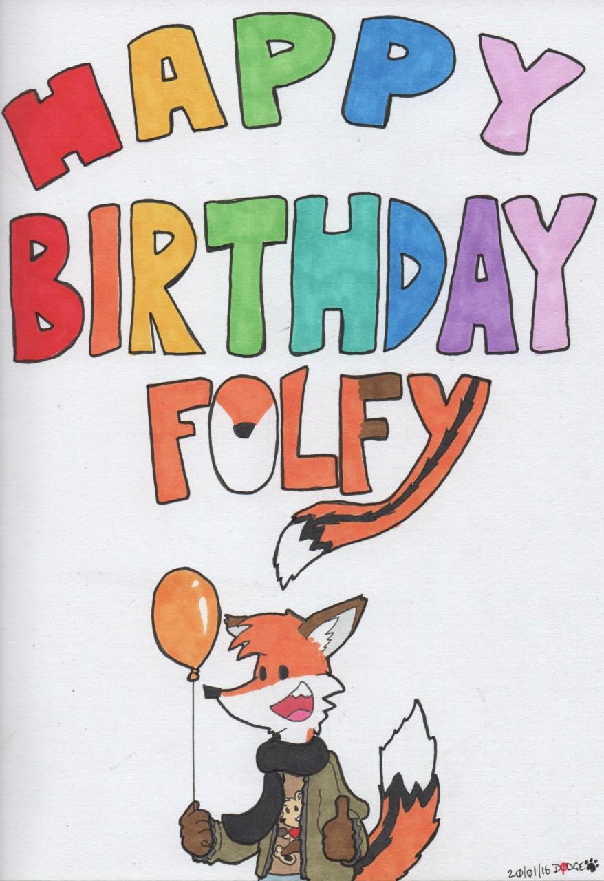 Birthday Folf by Dodge