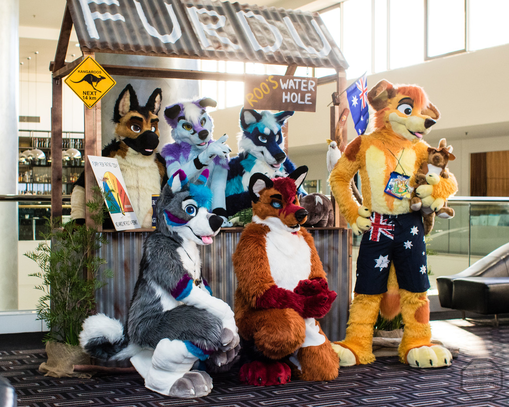 FurDU 2017: Made Fur You Group Shot