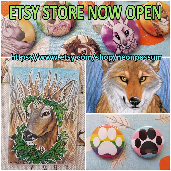 Etsy Store Open!