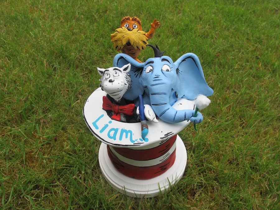 Dr Seuss Birthday Cake Topper Weasyl