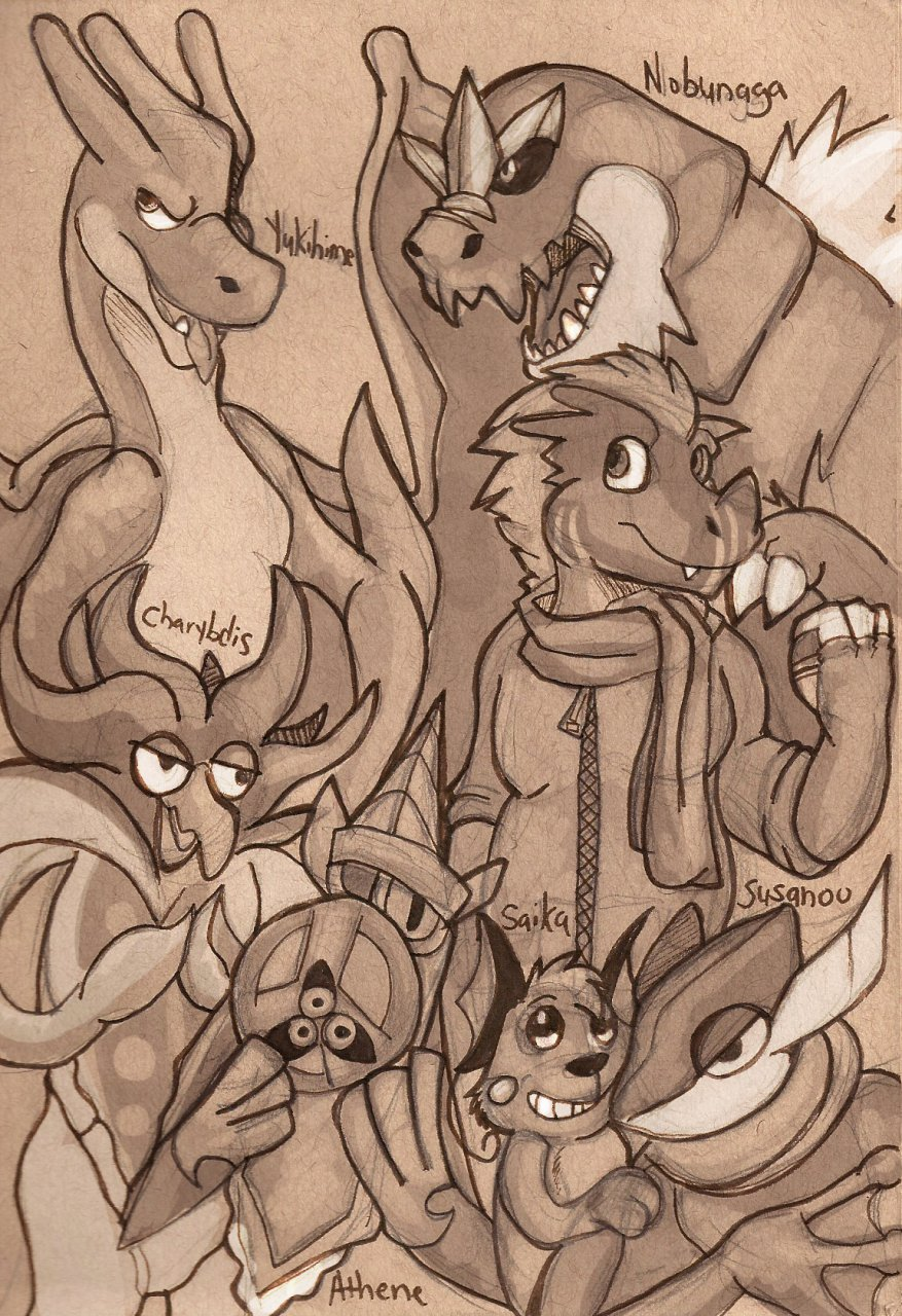 Jericho's Pokemon Team