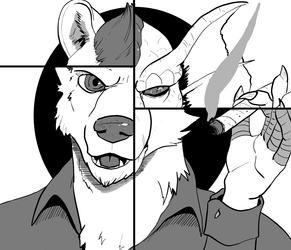 Inktober #2 - Divided