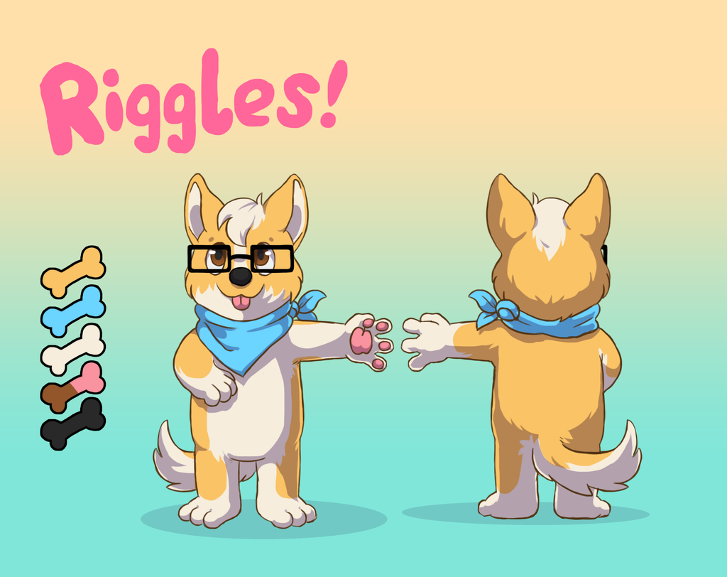 Ref Comission - Riggles the Corgi