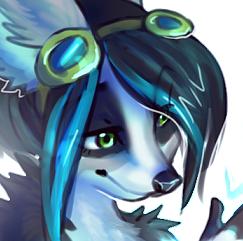 Giftart - Kerrah the fox
