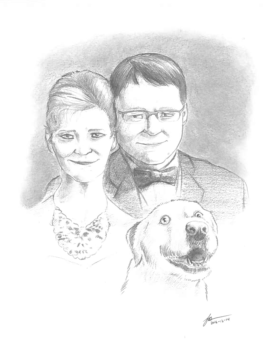 Most recent image: A Family Portrait With a Late Friend