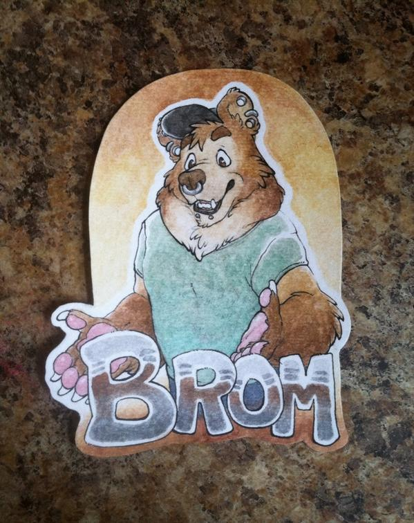Brom Collab badge
