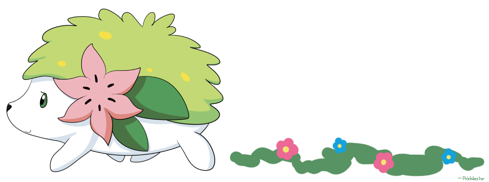 Featured image: Shaymin's Flower Footsteps