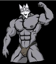Wolf Bodybuilder