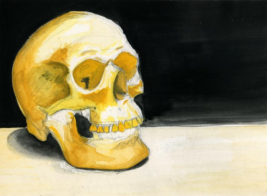 Most recent image: Golden Skull