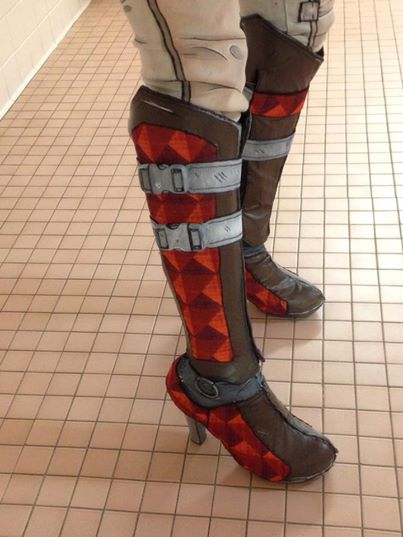 Most recent image: Tales from the Borderlands Fiona Cosplay Boots