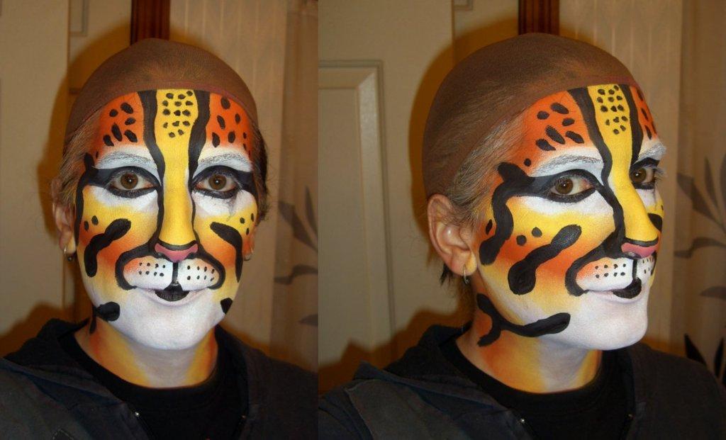 Ocelot Makeup Practice 3