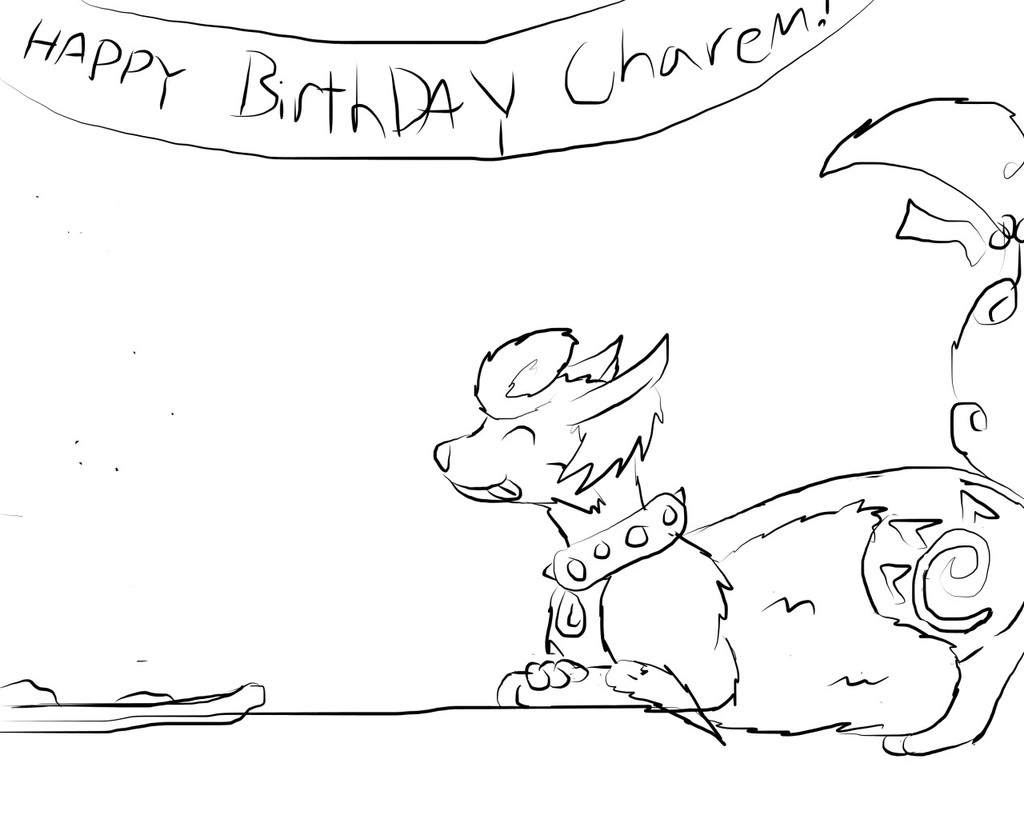 An Ate Birthday Cake - by DarkenJay