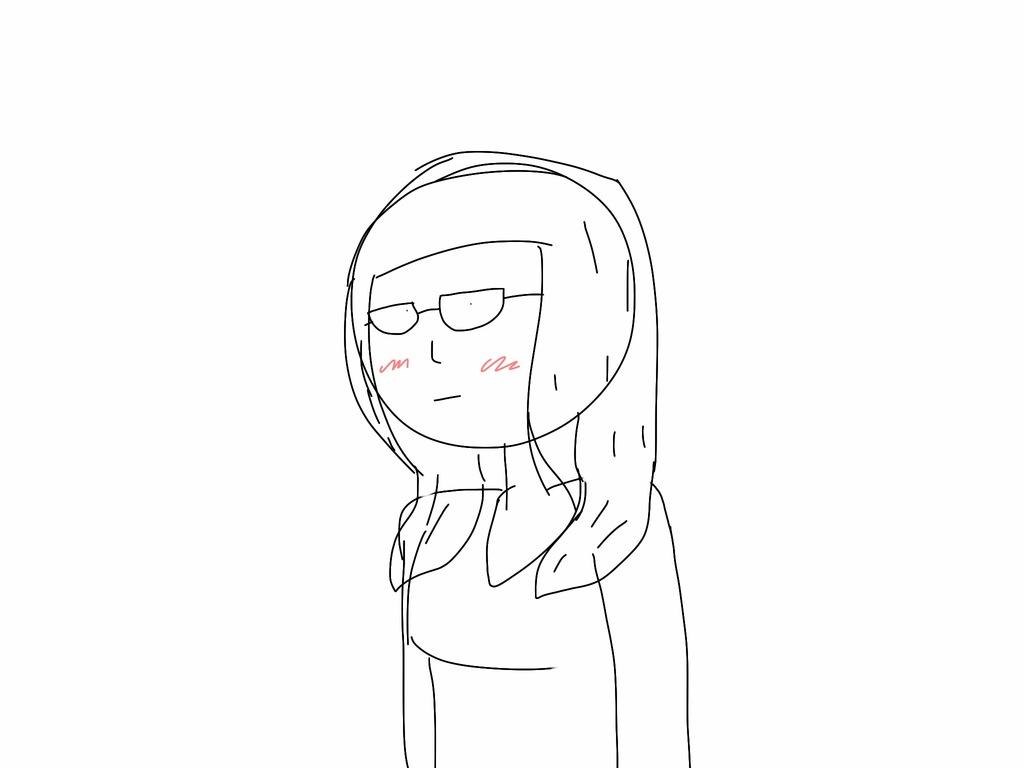 Shitty sketch of myself.